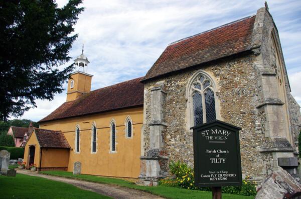Tilty church