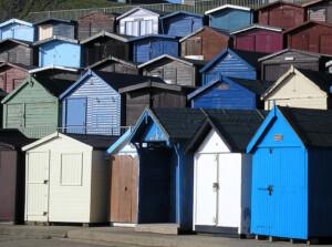 Walton beach huts
