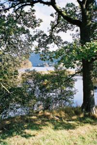 Caban-coch reservoir