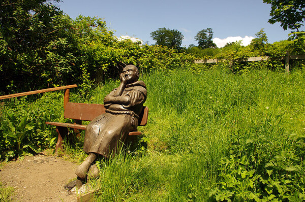 Pilgrim's Way bench