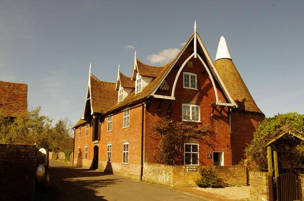 Patrixbourne oast house
