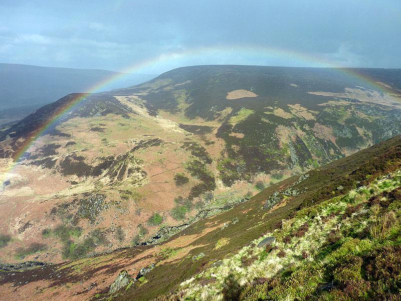 Rainbow over Torside Naze