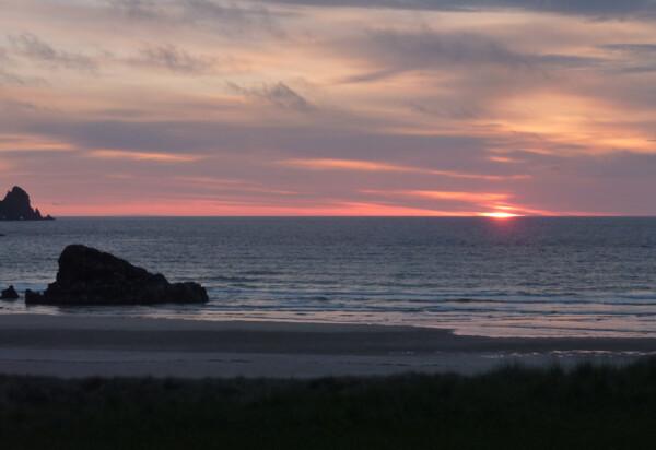 Sunset at Kearvaig