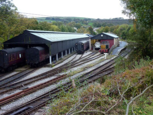 Oxenhope station yard