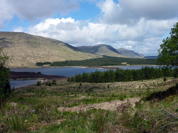 Loch Dee and the Galloway Hills