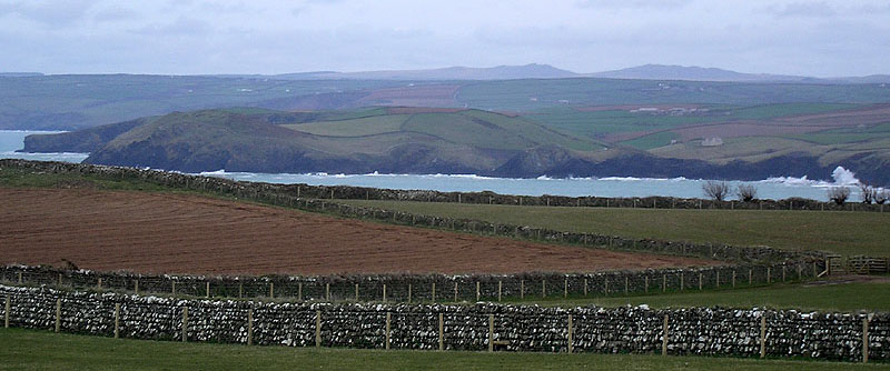 from Pentire Point