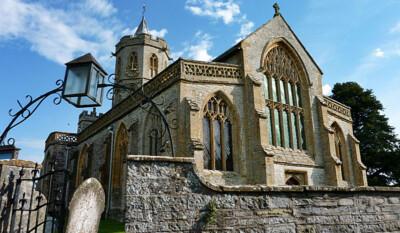 Stoke St Gregory church