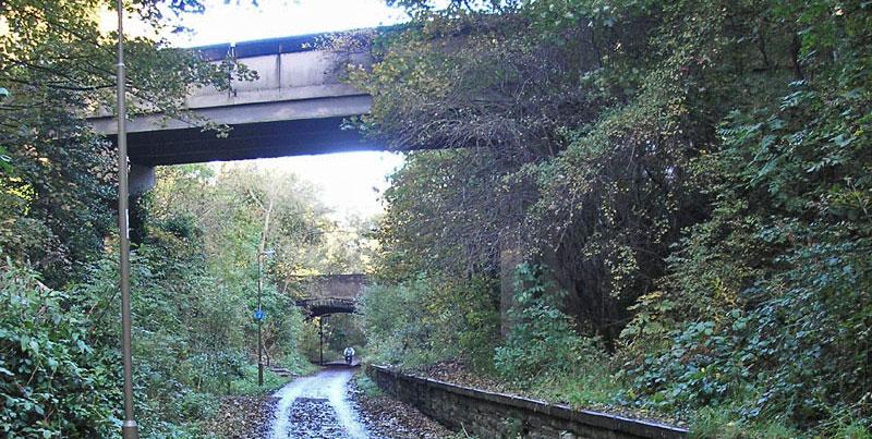 old rail line